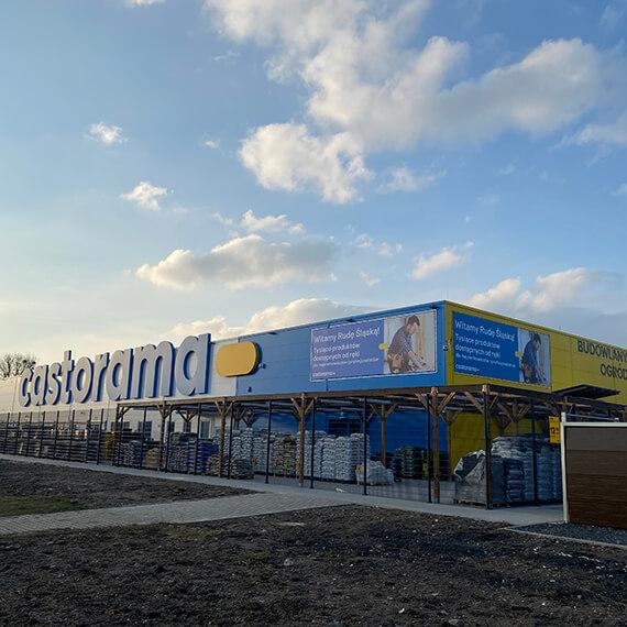 Wykończony budynek Castoramy